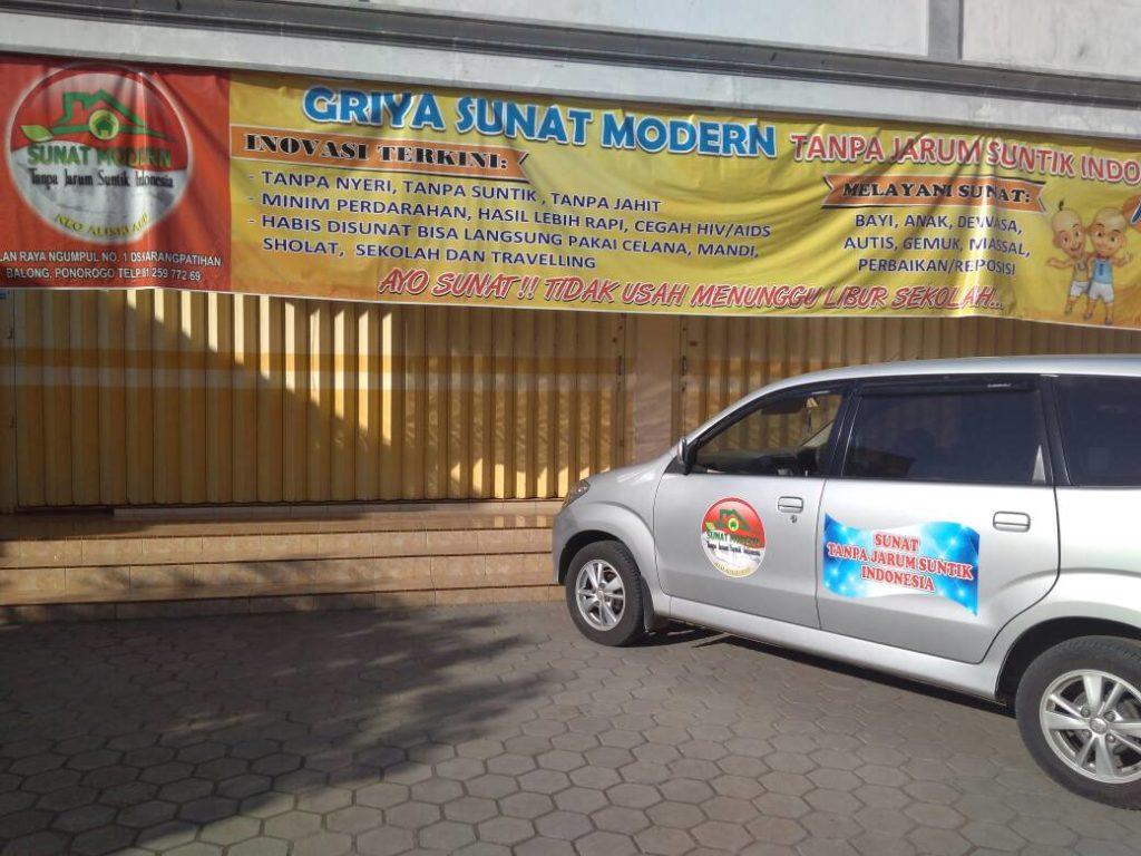 Klinik sunat GRIYA SUNAT MODERN PONOROGO